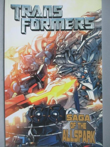 【書寶二手書T8/漫畫書_ZEQ】Saga of the Allspark_Furman, Simon/ Senior,