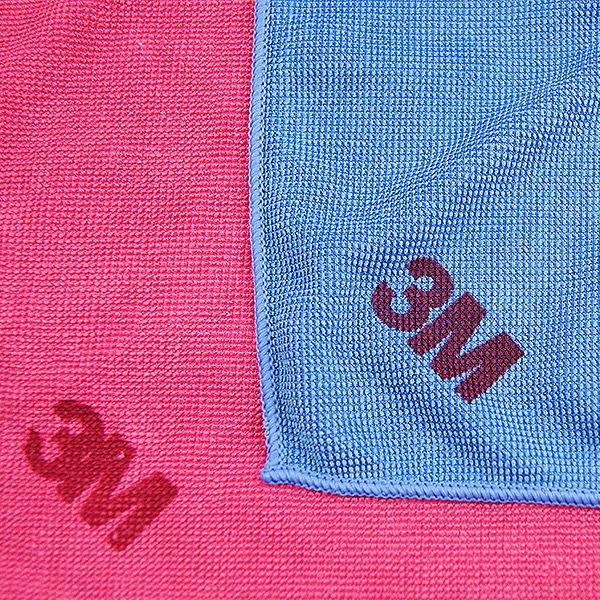 3M 百利 多功能擦拭布(36*36cm)/1入(紅藍兩色隨機出貨)