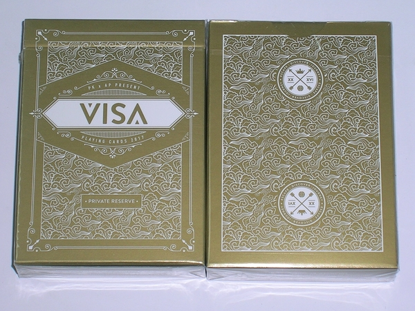 【USPCC 撲克】撲克牌 VISA WHITE PLAYING CARDS