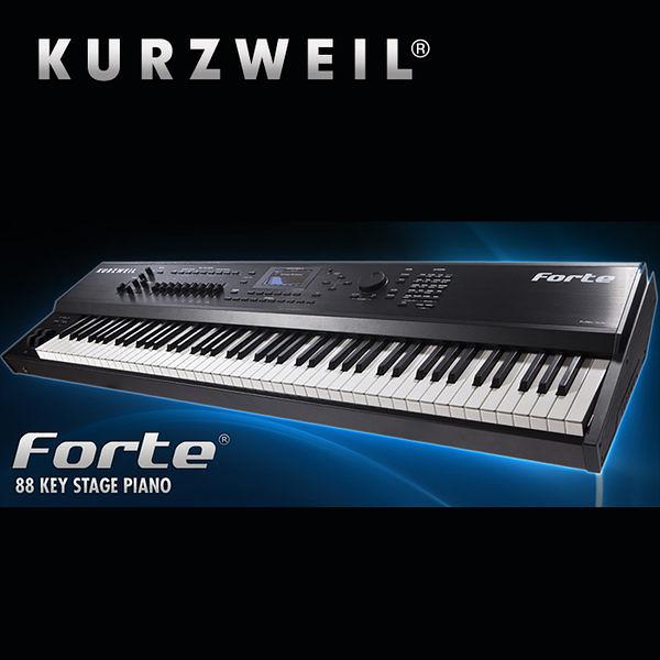 集樂城樂器 Kurzweil 科茲威爾 Forte 88鍵高級旗艦合成器鍵盤