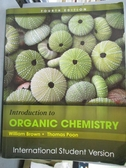 【書寶二手書T2/大學理工醫_WGI】Introduction to Organic Chemistry_William