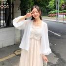 夏季女裝新品搭裙子雪紡衫仙女防曬衣小披肩薄款開衫很仙的外套 - 歐美韓熱銷