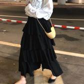 蛋糕裙 荷葉邊飾層層蛋糕長裙 艾爾莎【TAE6986】