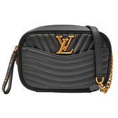 【Louis Vuitton 路易威登】M53682 NEW WAVE 相機包(黑色)