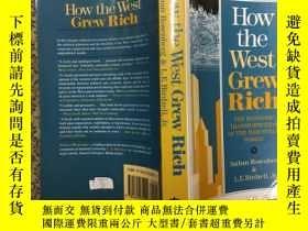 二手書博民逛書店How罕見the West Grew Rich: The Eco