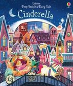 PEEP INSIDE CINDERELLA /精裝硬頁翻翻書 《主題:童話故事--灰姑娘 》