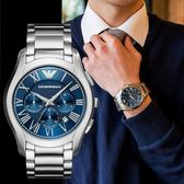 EMPORIO ARMANI 亞曼尼 高尚品味時尚精品錶 AR11082