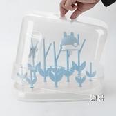奶瓶瀝水架 兒童晾干架涼干燥架放奶瓶架子瀝干的置物支架防塵收納JY【快速出貨】