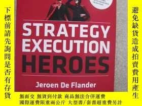 二手書博民逛書店Strategy罕見Execution Heroes:Busin