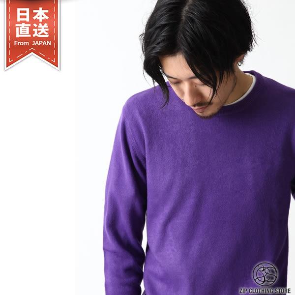 圓領針織毛衣 仿喀什米爾羊絨針織衫 S M