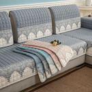 沙發墊四季通用布藝簡約現代坐墊子歐式沙發...