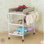 寶寶尿布台收納洗澡按摩新生兒換衣撫觸台多功能嬰兒便攜式護理台ATF 美好生活