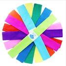 彩色皺紋紙幼兒園環境佈置智慧樹幼兒diy手工材料100*50cm─預購CH5080