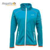 Regatta 女 軟殼外套 搪瓷藍 彈性│抗風│軟殼衣外套 RWL049