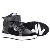 【東門城】V'QUATTRO MILANO MID ORIGINAL 短筒野性款防摔鞋(黑)