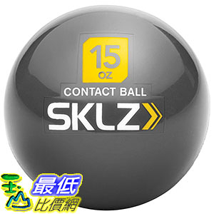 [美國直購] Sklz B01C4M6PJG Contact Weighted Training Ball 訓練球