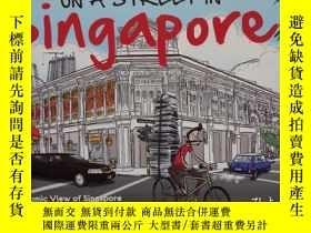 二手書博民逛書店On罕見a Street in Singapore: A Com