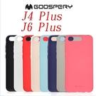 88柑仔店--Goospery 三星 J4+ 6吋手機殼保護套J6 Plus 磨砂硅膠防摔新款J4 Plus