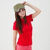 女款3M吸濕排汗POLO衫 素面POLO衫 紅色