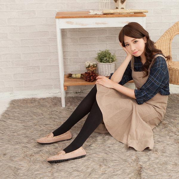 80D微壓收腹提臀啞光條紋褲襪(黑色)