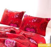 尾牙年貨節法萊絨枕套珊瑚絨枕套法蘭絨枕芯套一對裝枕頭套單人gogo購