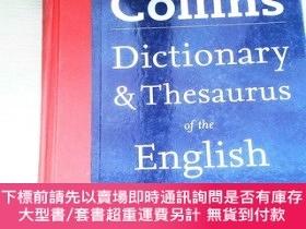 二手書博民逛書店Collins罕見Dictionary & Thesaurus of the English Language [