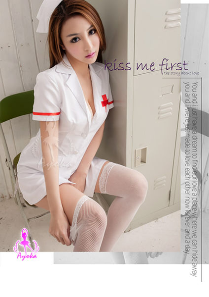 愛的照顧!三件式護士角色扮演服  SEXYBABY 性感寶貝 SNA15030112