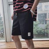 夏季男士百搭港風寬鬆短褲正韓潮流學生帥氣休閒五分褲子