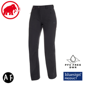 【MAMMUT 長毛象 女 AC Winter Hiking SO Pants AF 軟殼褲《黑》】1021-00440/機能褲