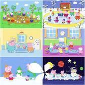 小豬佩奇 48/100片拼圖粉紅豬小妹兒童拼圖男女3-8歲親子早教玩具