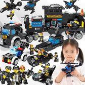 (超夯大放價)拼裝積木 積木拼裝城市6男孩子7女孩益智3周歲8玩具XW