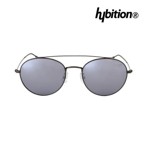 Hybition X Minorterm 聯名款 Steel Silver 鐵黑色鏡框/銀色鏡面鏡片 附義大利真皮包袋