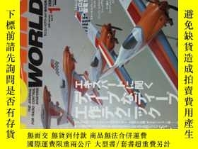 二手書博民逛書店RC罕見AIR WORLD (JOURNAL)2006 01航空