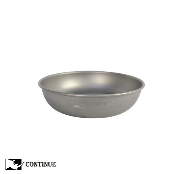 CONTINUE 鈦金屬輕量鈦盤(小)