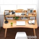 電腦桌 式桌簡易北歐書桌書架組合簡約家用學生臥室寫字學習小桌子 2021新款