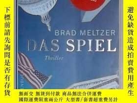 二手書博民逛書店德語原版罕見Das Spiel: Thriller von Br