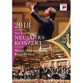 2018維也納新年音樂會 黎卡多慕提 & 維也納愛樂 DVD 免運 (購潮8)