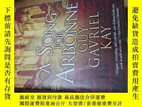 二手書博民逛書店a罕見song for arbonne英文奇幻小說Y31330