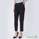 彈性長褲04黑-bossini女裝