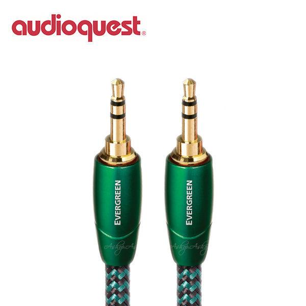 【A Shop】美國 Audioquest Evergreen 訊號線 1.5M (3.5mm-3.5mm)