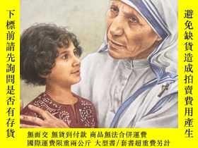 二手書博民逛書店《我能讀傳記》系列:Mother罕見TERESA 特蕾莎修女傳Y