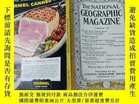 二手書博民逛書店National罕見Geographic January 194