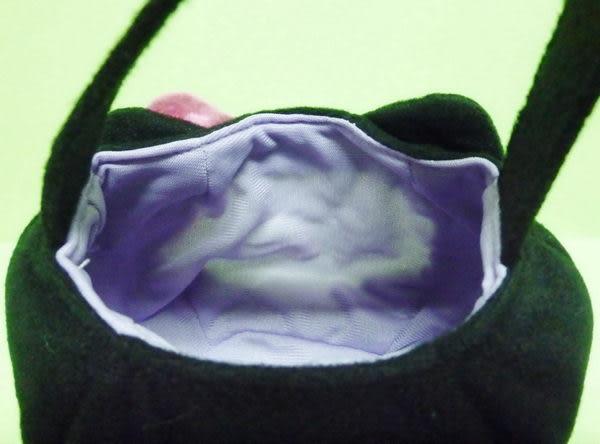 【震撼精品百貨】Hello Kitty 凱蒂貓~造型手提袋『黑貓』