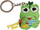 宣傳利器 造型鑰匙圈 客製化鑰匙圈 送禮好物 婚禮小物 個性鑰匙圈 廣告文宣 Q版青蛙公仔