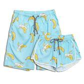 沙灘褲夏裝沙灘褲男寬鬆速乾溫泉泳褲五分大碼情侶裝休息海邊度假短褲女 伊蒂斯女裝