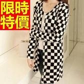 長版針織外套 -美觀愜意可愛精選新款氣質女毛衣外套1色59v29【巴黎精品】