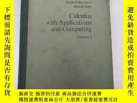 二手書博民逛書店calculus罕見with applications and