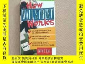 二手書博民逛書店How罕見Wall Street Works second ed