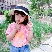 兒童純棉短袖T恤女童夏天半袖卡通可愛上衣【聚物優品】