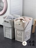 北歐髒衣服收納筐家用髒衣籃洗衣籃浴室髒衣簍收納桶【君來佳選】